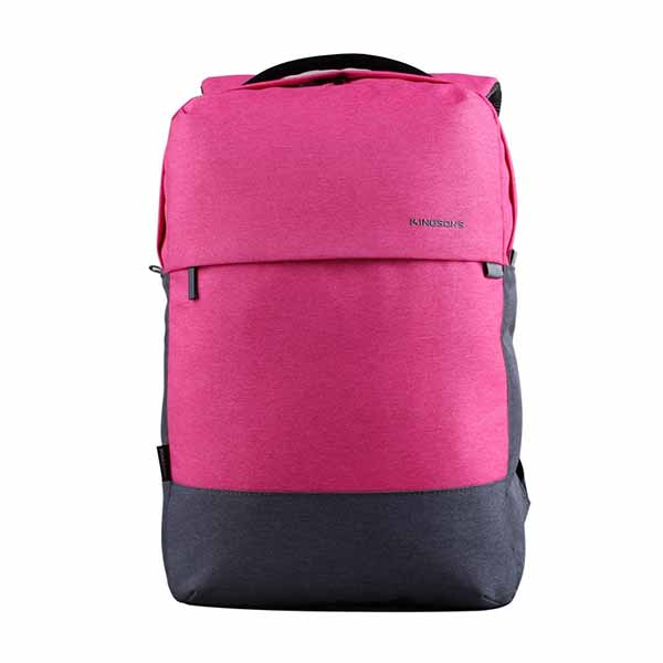 Mochila Porta Notebook Kingsons Bicolor Fucsia