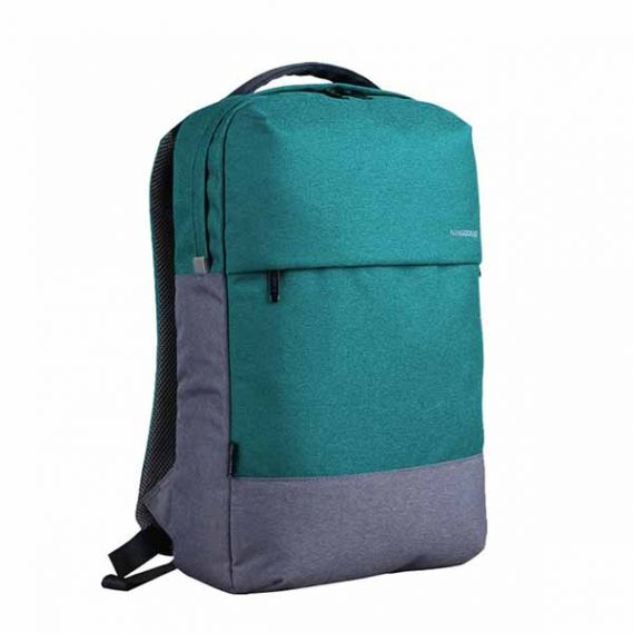 Mochila Notebook Kingsons Bicolor Verde