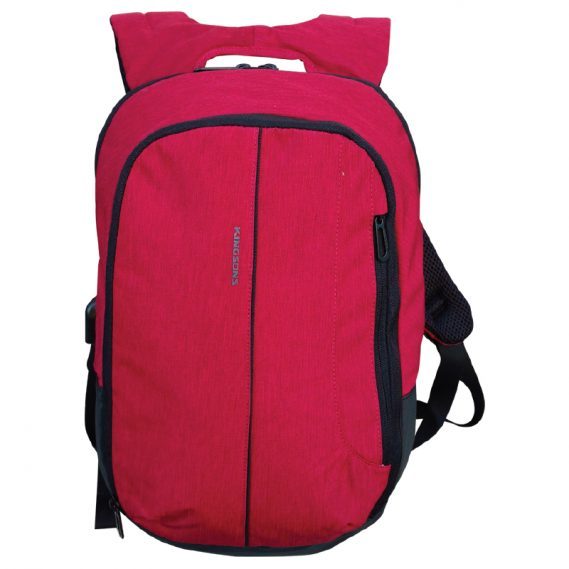 Mochila Porta Notebook Kingsons Red Adapter