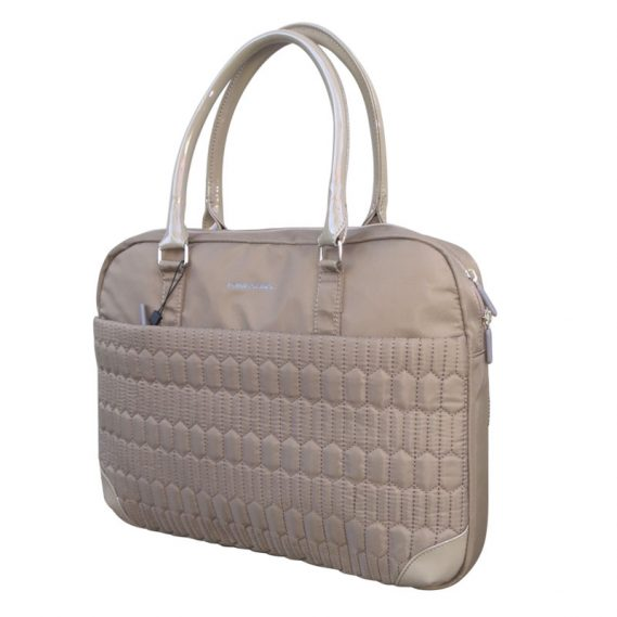 cartera charol nude Kingsons